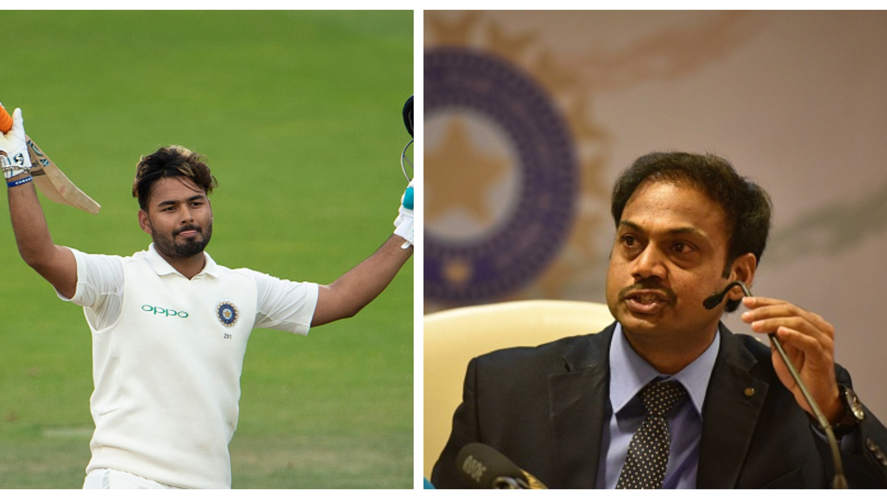 He is a fine batsman but Rishabh Pant needs to get better with the gloves, says MSK Prasad