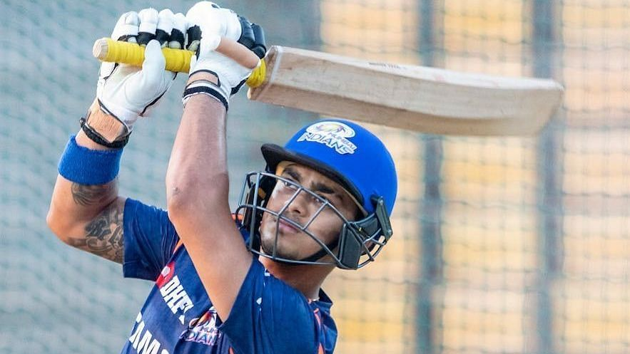Ishan Kishan plays for Mumbai Indians in the IPL | Twitter
