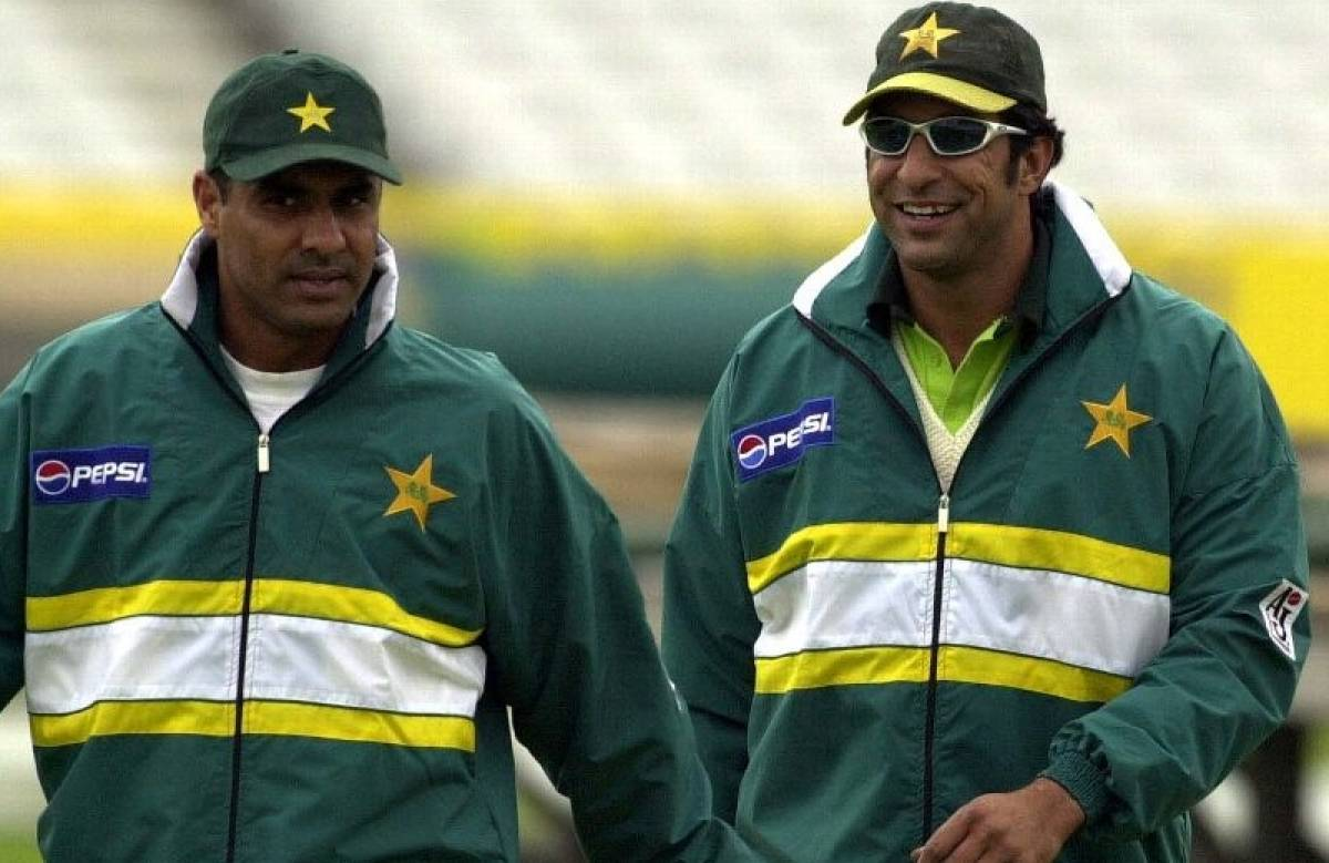 Waqar Younis and Wasim Akram