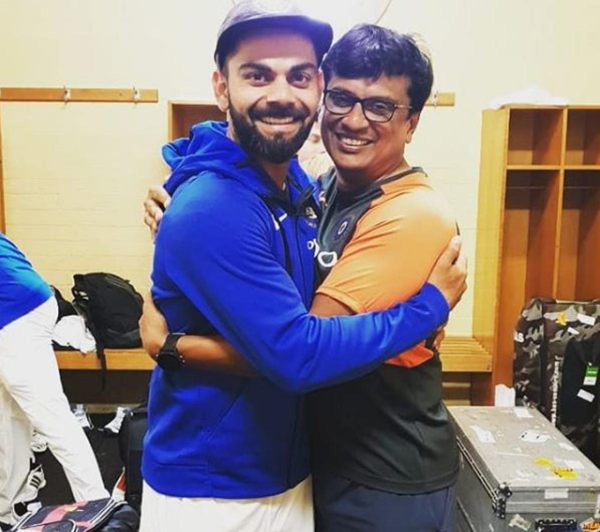 Basu Shanker with Virat Kohli | Twitter