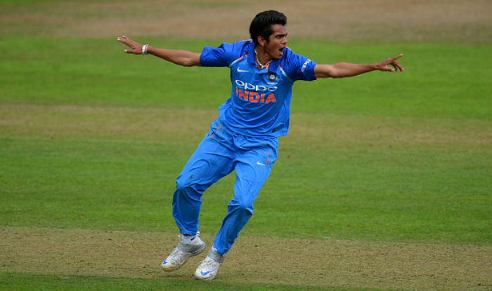 Nagarkoti has been impressive for India in this ICC U19 campaign. (Getty)