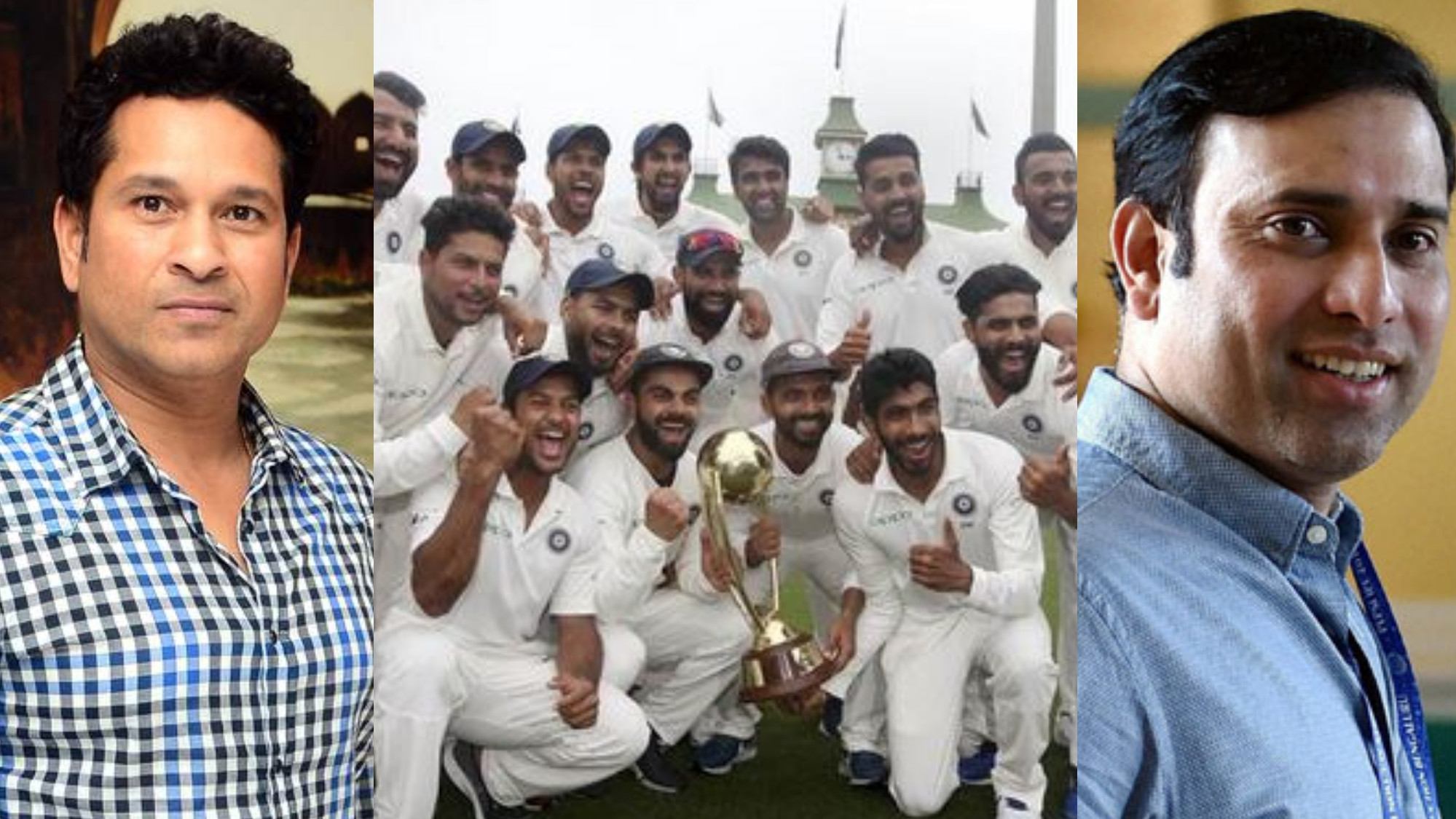 AUS v IND 2018-19: Indian cricket fraternity sends joyous wishes to Team India on historic series win over Australia
