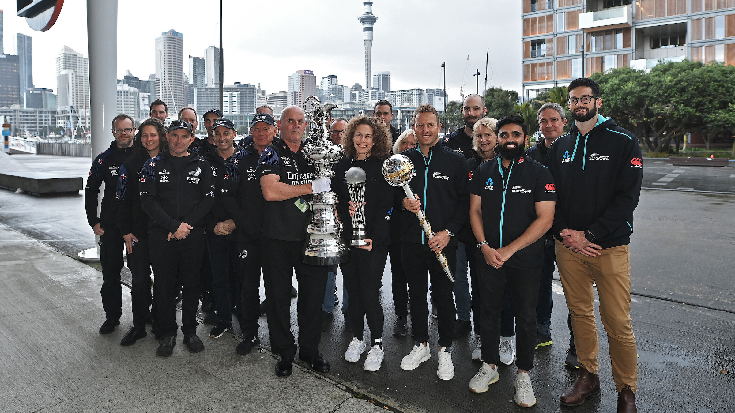 New Zealand's WTC winning squad starts nation-wide mace tour; BlackCaps share pictures on social media