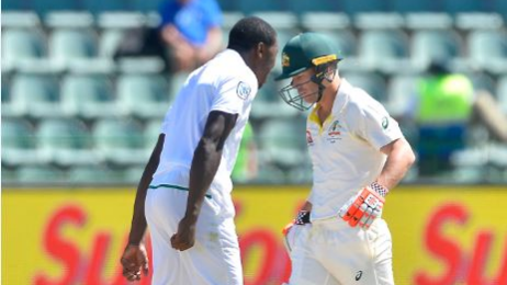 SA v AUS 2018: ICC imposed additional charge on Kagiso Rabada for David Warner send-off