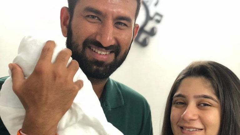 Indian cricketer Cheteshwar Pujara becomes father; blessed with a baby girl