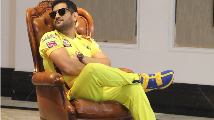 IPL 2020: CSK players take out time for shoot; fans ask MS Dhoni or Rajinikanth?