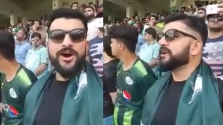 Pakistani fan who sang Indian national anthem has a new plan for Ind vs Pak match on Sunday