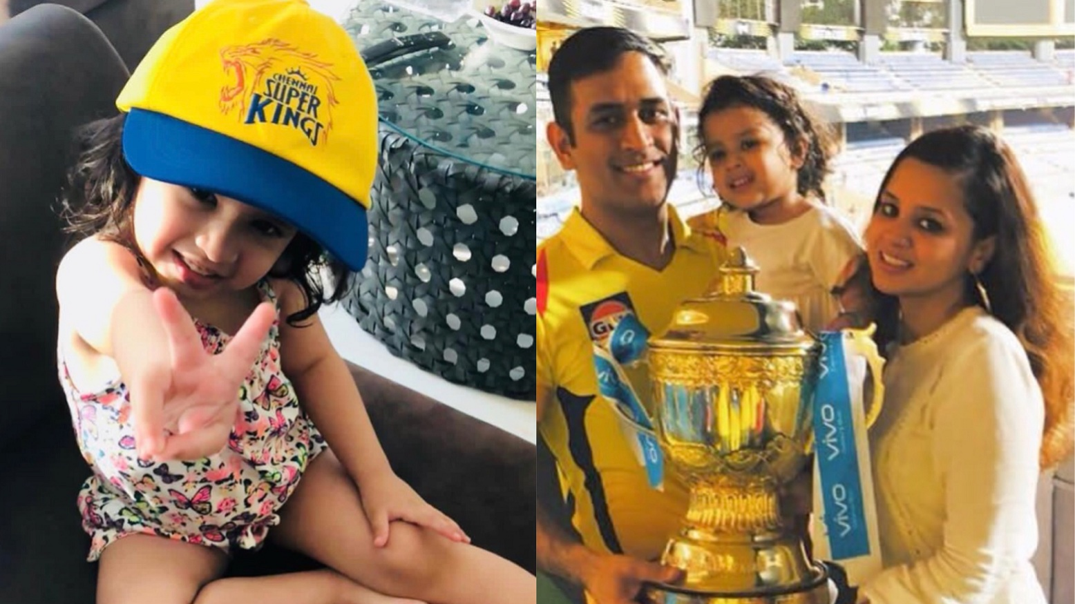 WATCH: Bad news for CSK, Ziva Dhoni will now support another team in IPL