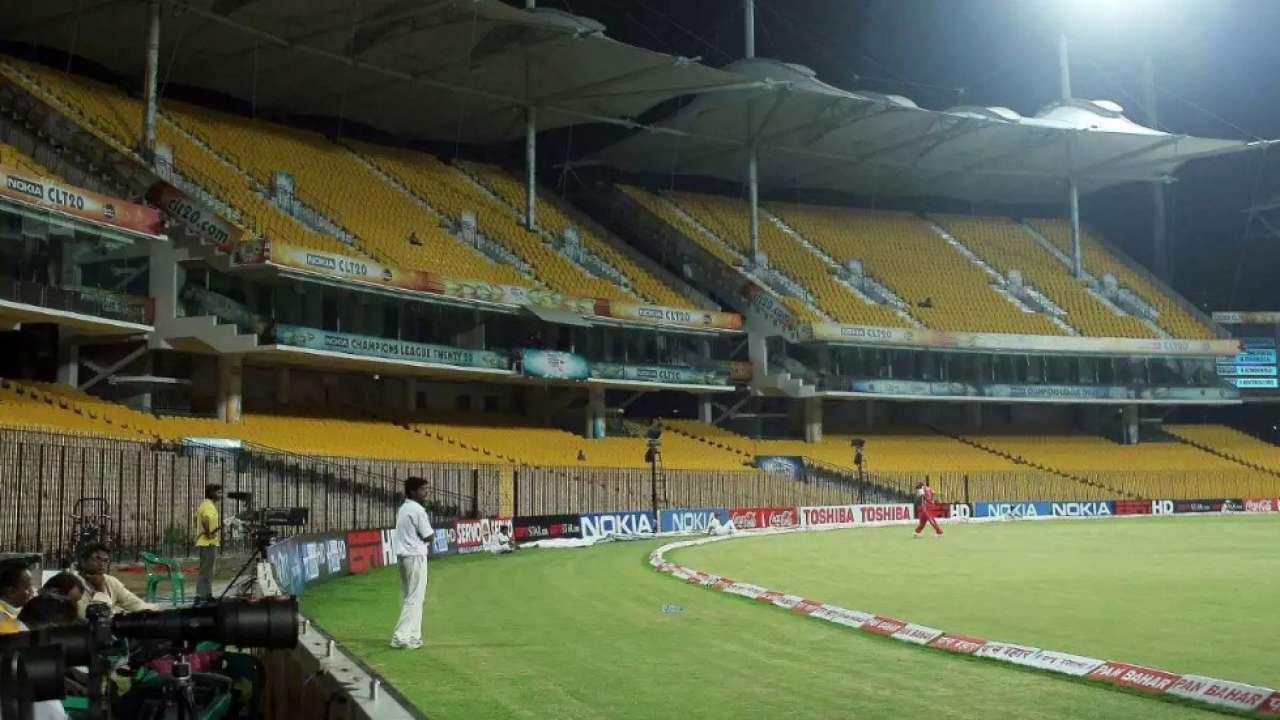 Chennai's MA Chidambaram Stadium will host the first two Tests | Twitter