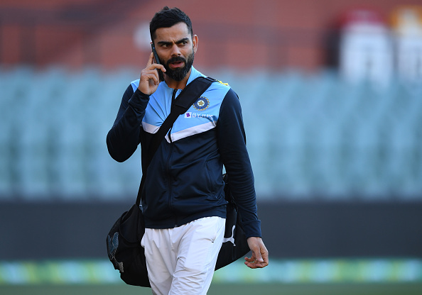 Virat Kohli after the Adelaide Test | Getty