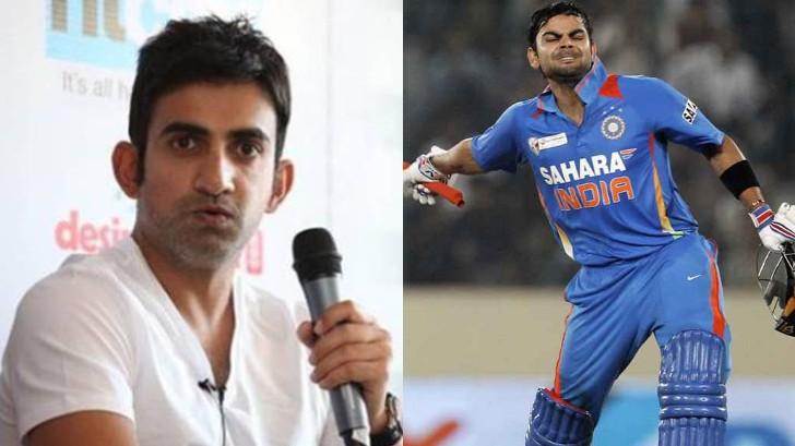 WATCH: Gautam Gambhir chooses Virat Kohli's best innings till date