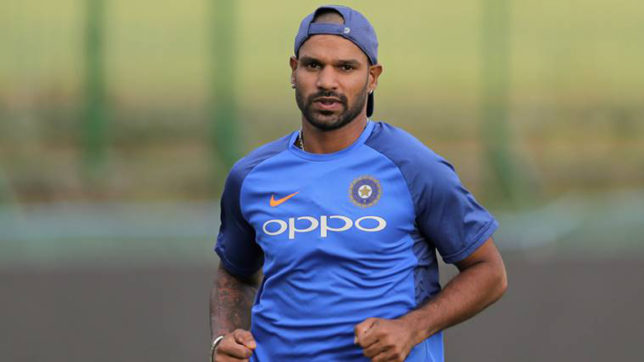 Watch: Shikhar Dhawan takes the #HumFitIndiaHit fitness challenge