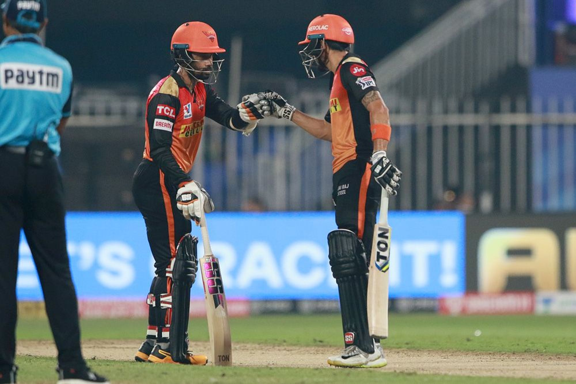 Saha (39) and Pandey (26) added 50 runs for 2nd wicket for SRH | BCCI/IPL
