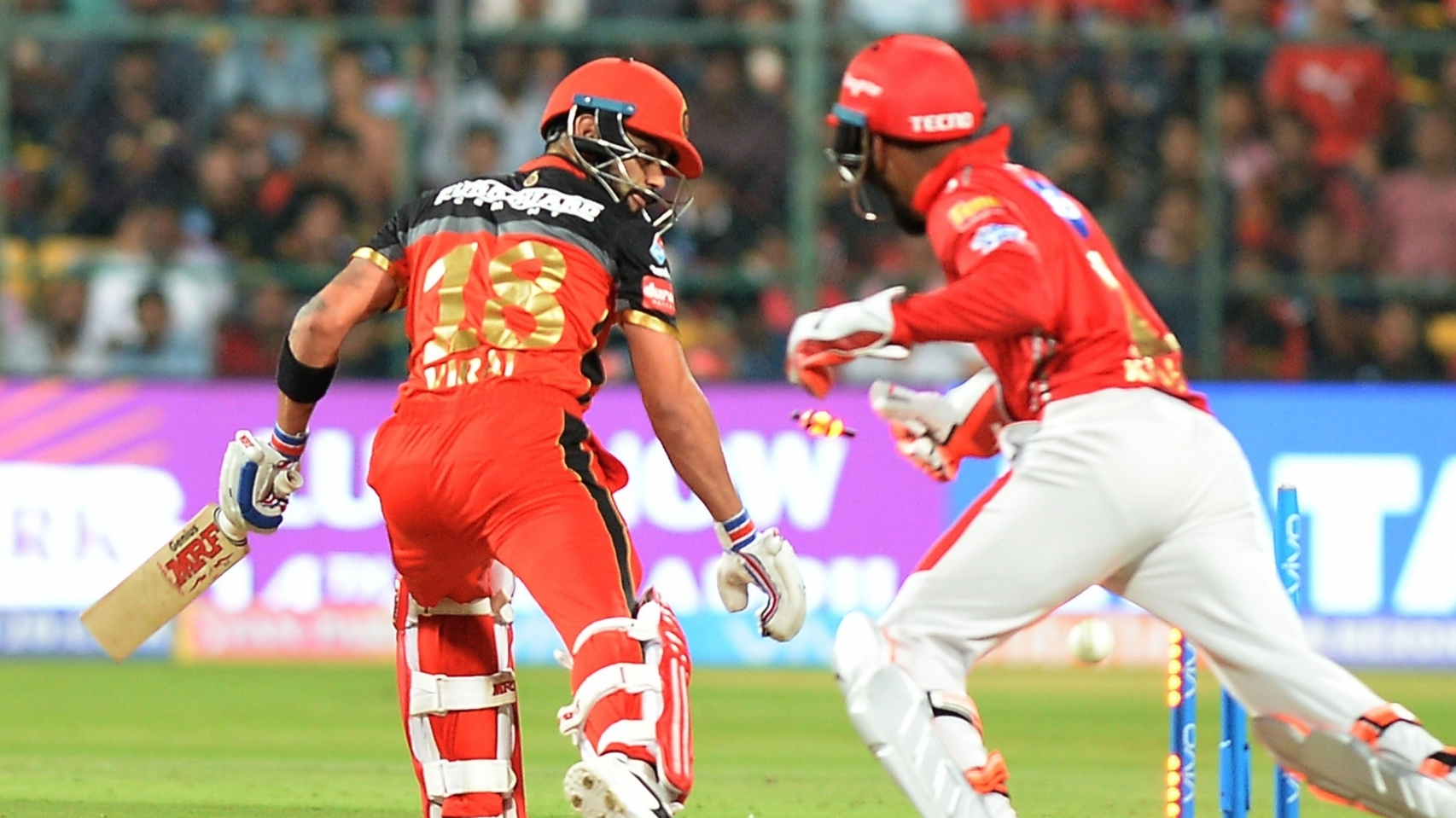 IPL 2018:  Twitter reacts to Mujeeb Ur Rahman's dream delivery that got rid of Virat Kohli