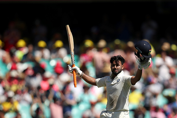 Pant scored a swashbuckling 159* in India's first innings at the SCG | Getty