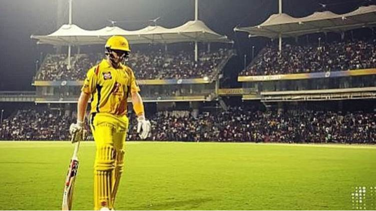 IPL 2018: Watch- 10,000 fans watched Chennai Super Kings' practice match
