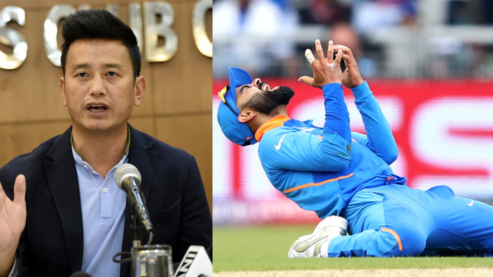 CWC 2019: Football great Bhaichung Bhutia says sometimes the best teams don't win on India's SF loss