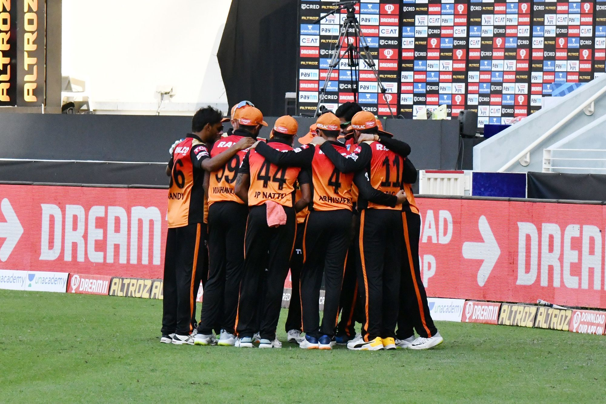 SRH suffered its fourth loss to RR in the IPL 2020 on Sunday | SRH Twitter