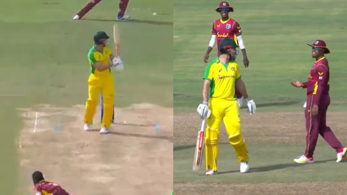 WI v AUS 2021: Twitterati slam Mitchell Marsh for walking off only after WI called for DRS