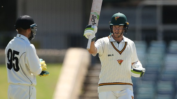 Tim Paine ends 13-year drought of a first-class ton