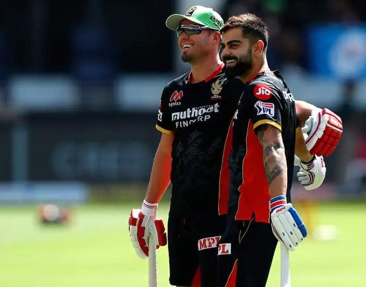 Virat Kohli and AB de Villiers | Twitter