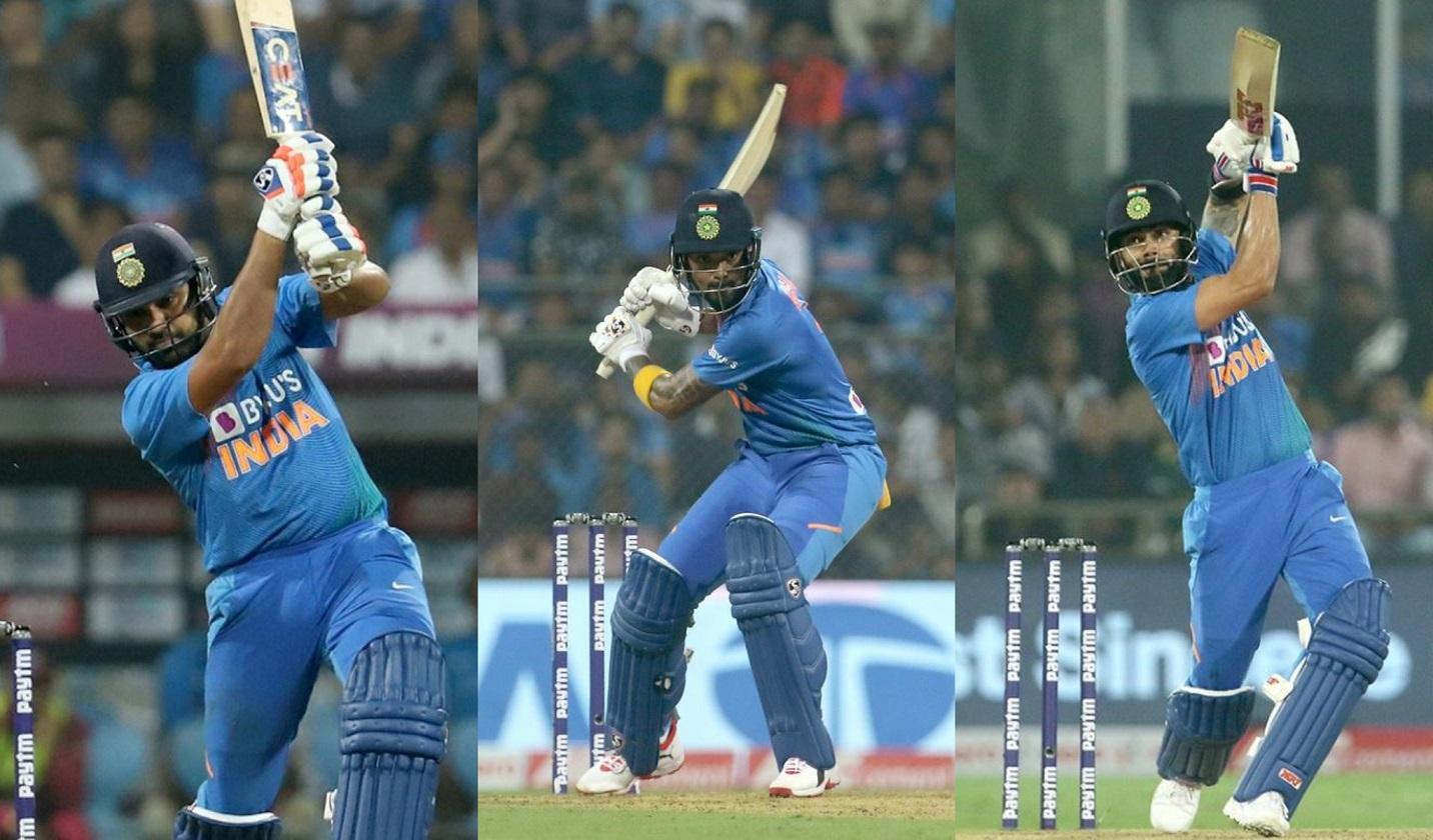 All the three batsmen were amazing