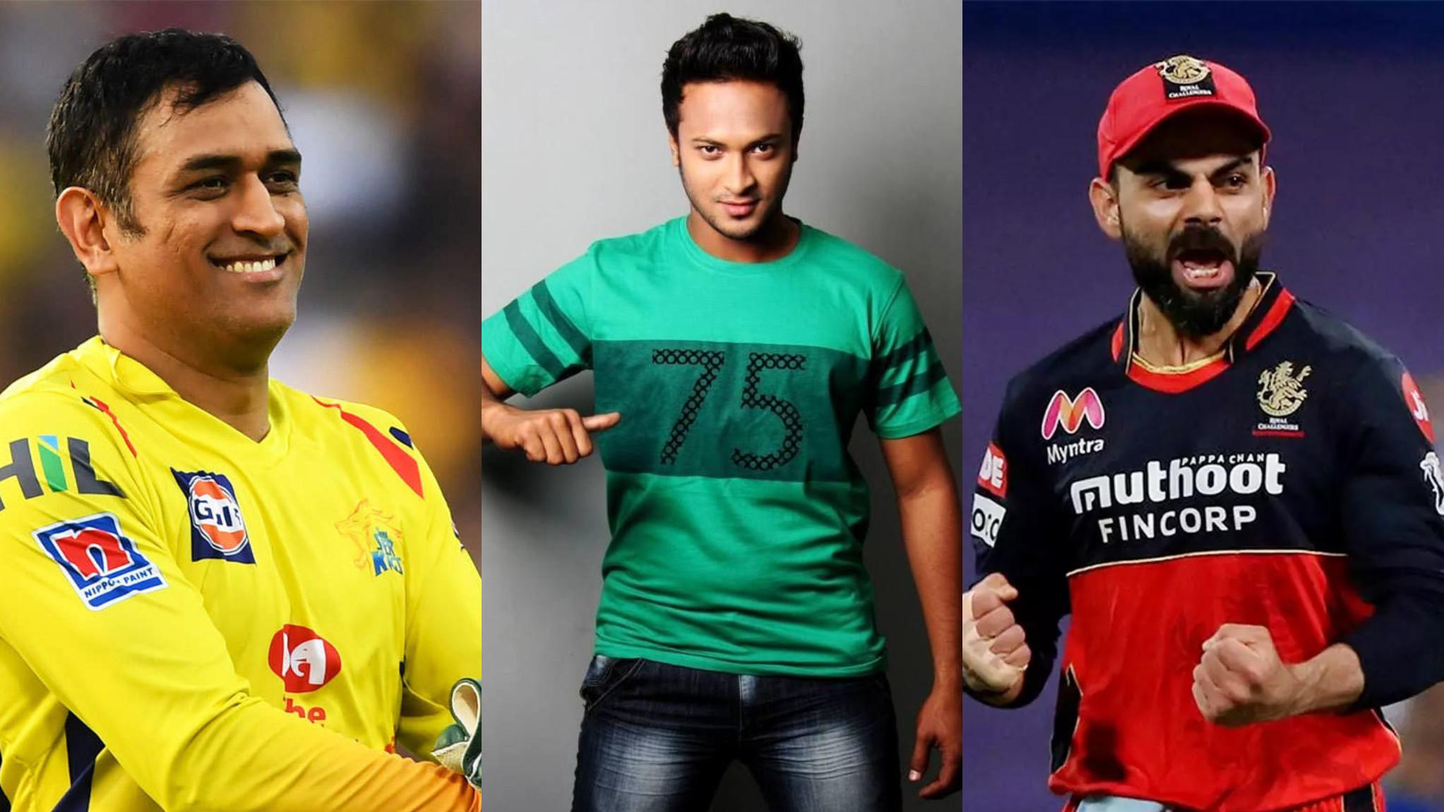 Shakib Al Hasan names MS Dhoni captain of his all-time IPL XI; leaves out Gayle, De Villiers
