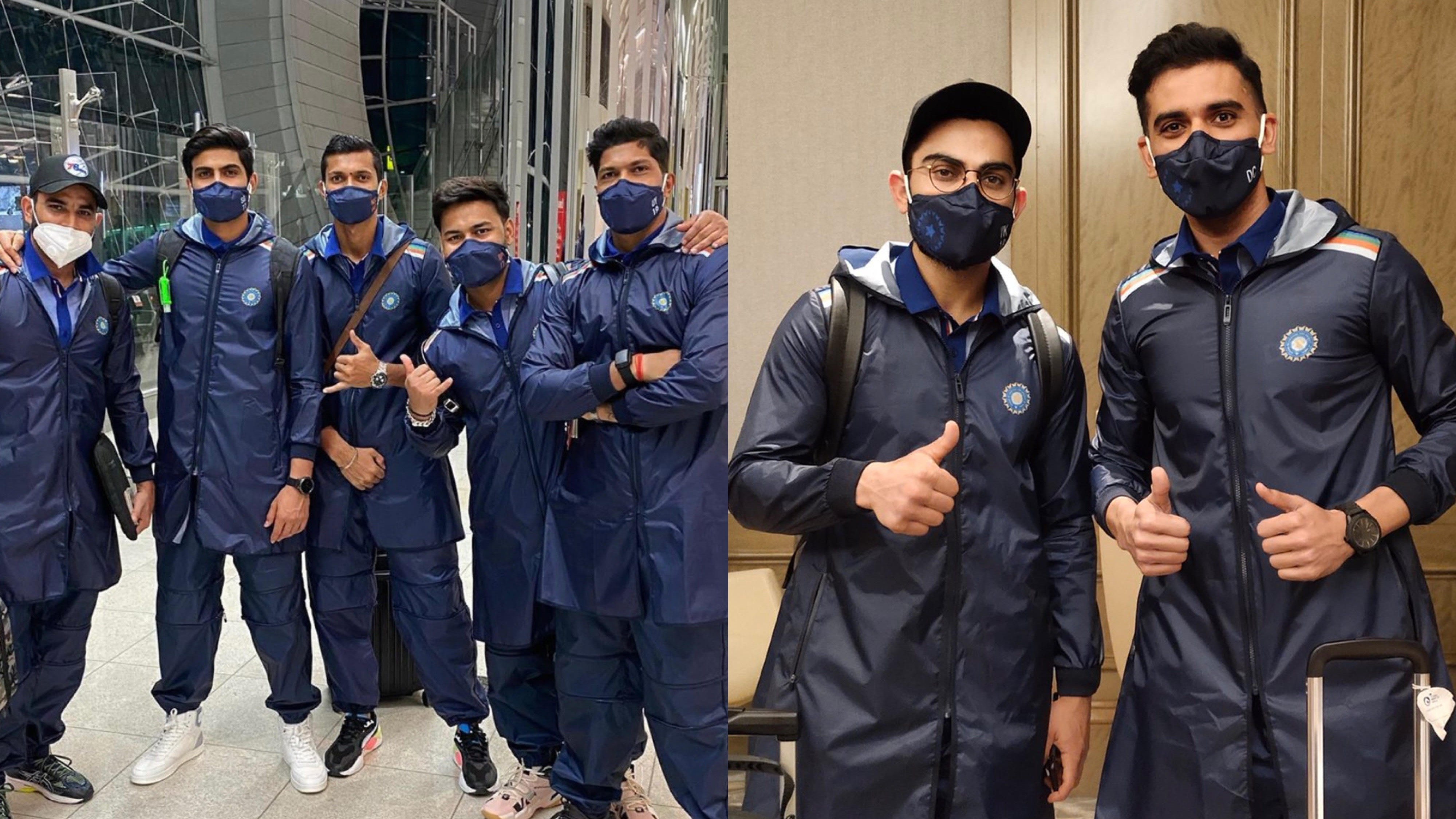 AUS v IND 2020-21: PICS - Team India departs for Australia from Dubai