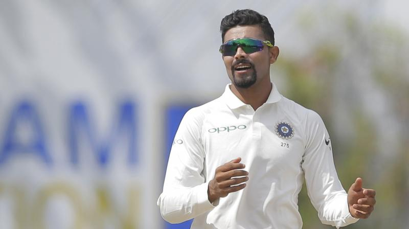 Ravindra Jadeja might replace R Ashwin who is struggling with an injury | Getty