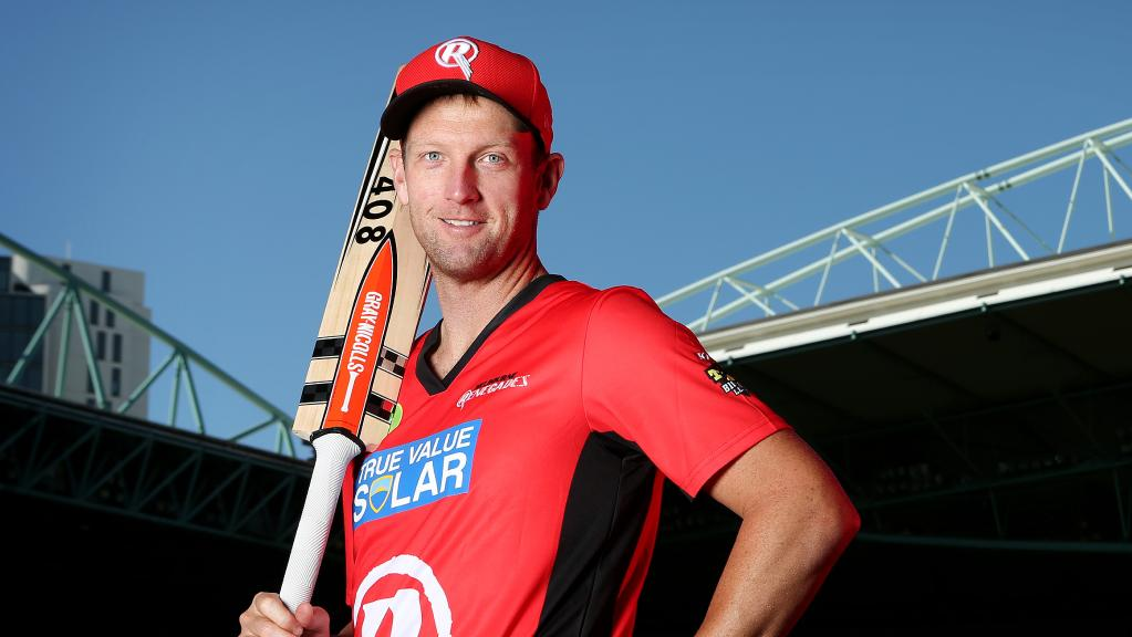 White is playing for Melbourne Renegades in BBL 07. (Daily Telegraph)