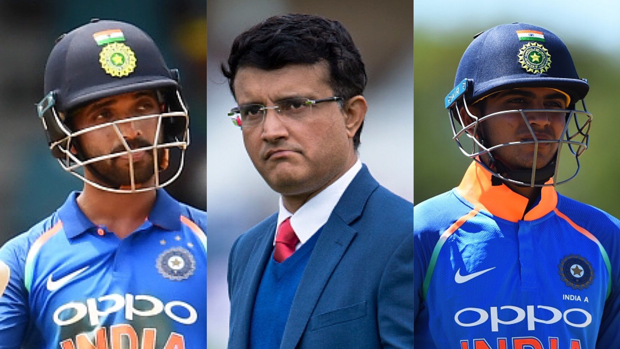 WI v IND 2019: Sourav Ganguly questions non-selection of Ajinkya Rahane and Shubman Gill in one-day team