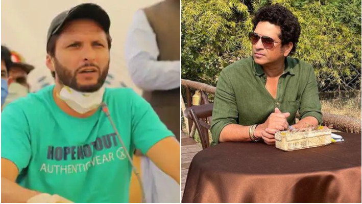 Shahid Afridi wishes Sachin Tendulkar a strong recovery after being hospitalized