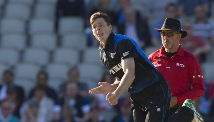 Mitchell Santner has played 26 T20Is for New Zealand | Getty
