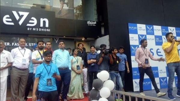 WATCH: MS Dhoni inaugurates a SEVEN store in Bangalore