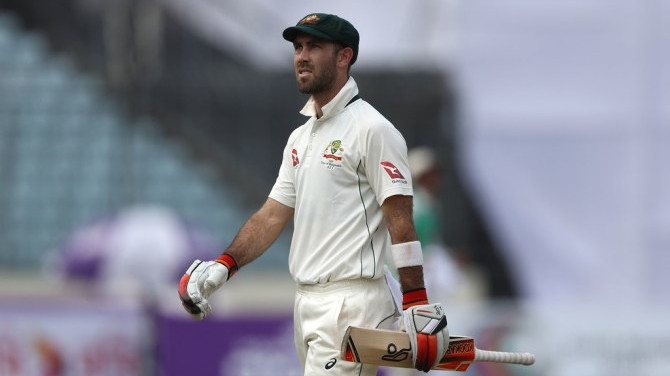 Was in the baggy green when got to know about Test snub, reveals Glenn Maxwell