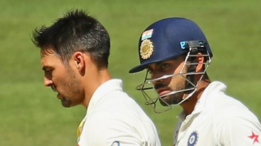 AUS v IND 2018-19: Twitterati slam Mitchell Johnson for his dig at Virat Kohli