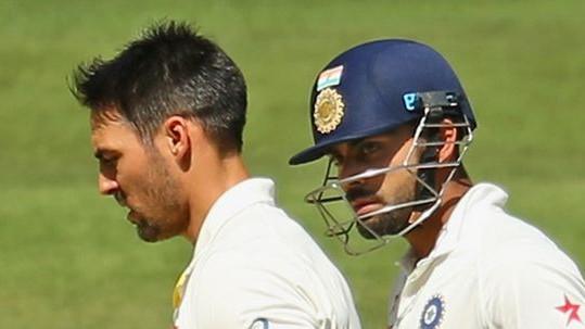 AUS v IND 2018-19: Twitterati slam Mitchell Johnson for his dig at Virat Kohli