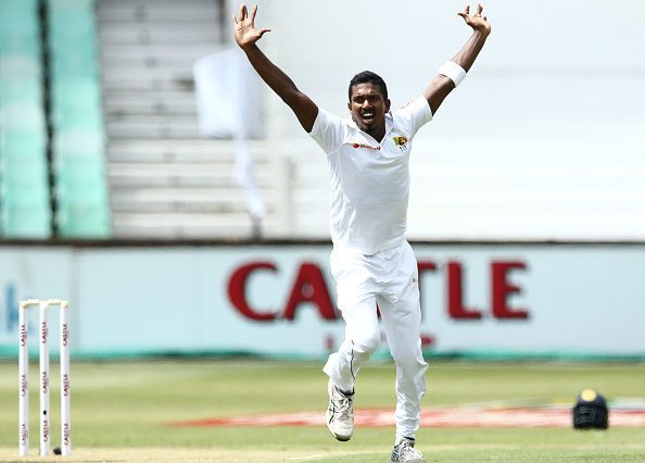 Vishwa Fernando took four wickets in the first innings at Kingsmead | Getty Images