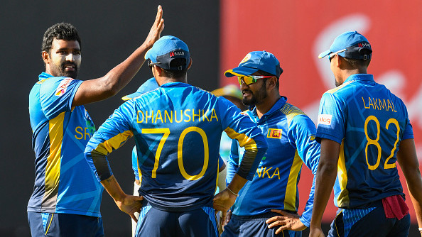 WI v SL 2021: Sri Lanka fined 40% match fees for slow over-rate in third ODI