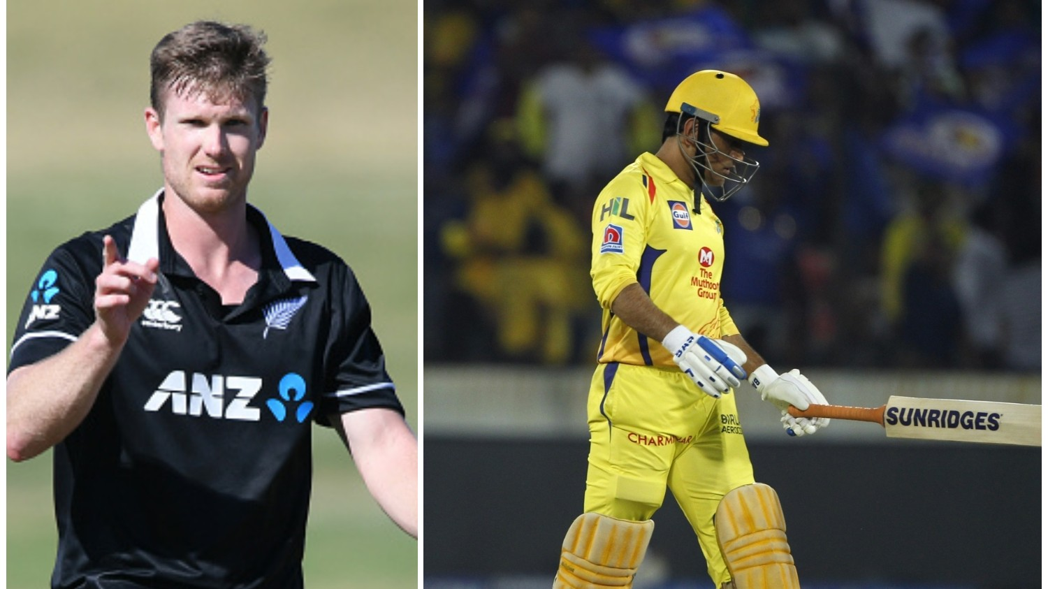 IPL 2019: James Neesham deletes his tweet about MS Dhoni's controversial run out