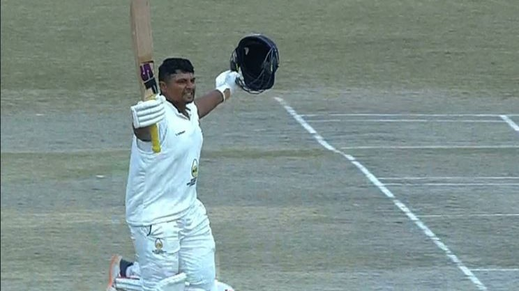 Ranji Trophy 2020: Sarfaraz Khan continues excellent form; blasts 177 against Madhya Pradesh