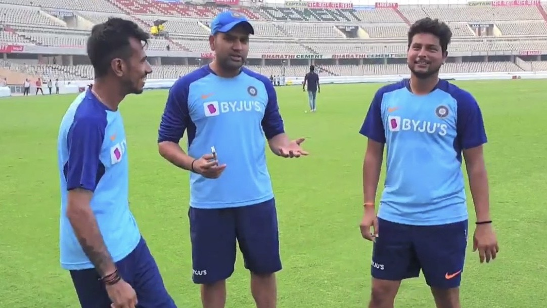 IND v WI 2019: WATCH - 'Kul-Cha' share their interests other than cricket with Rohit Sharma