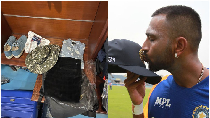IND v ENG 2021: Krunal Pandya shares picture of his father's stuff he carried with him