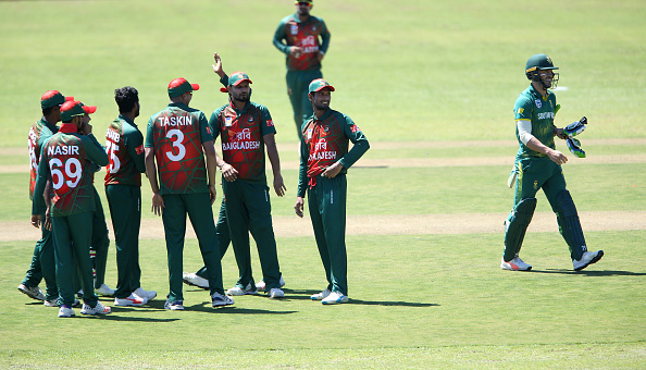 Bangladesh cricket team | Source Getty