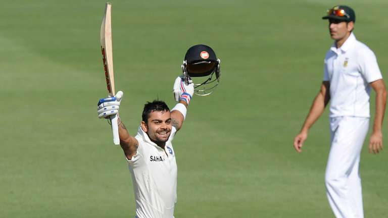 Virat Kohli scored a brilliant 119 on India's last tour to South Africa