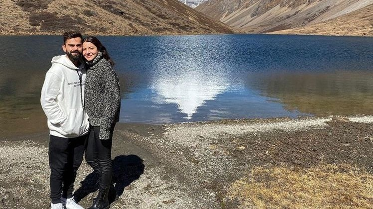 Virat Kohli and Anushka Sharma's latest dreamy photos from Bhutan trip are pure couple goals