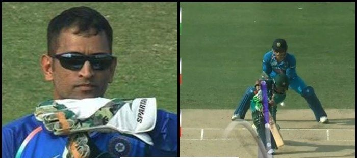 MS Dhoni got another DRS call spot on