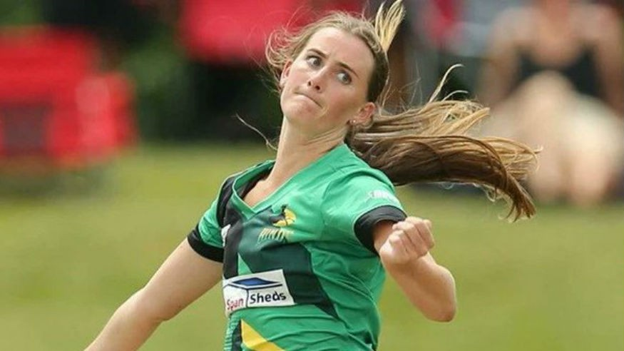 New Zealand's Rosemary Mair takes double hat-trick maiden in District Match