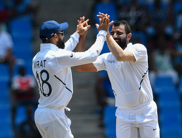 Virat Kohli and Mohammad Shami | Getty Images