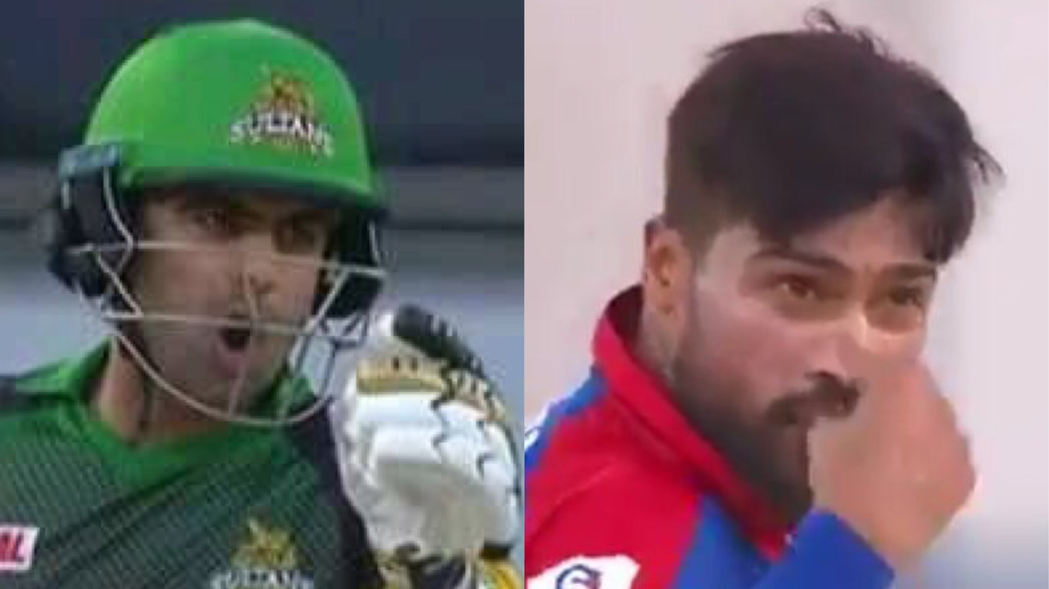PSL 2018: Watch- Mohammed Amir and Ahmad Shahzad clash in a war of words
